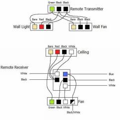 Wiring Diagram Of Ceiling Fan With Light Ge Refrigerator Schematic A Red Wire Hunter
