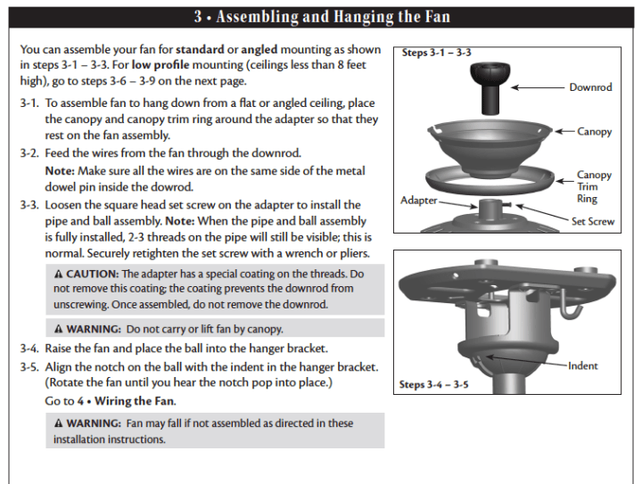Hampton Bay Remote Control Ceiling Fan Troubleshooting