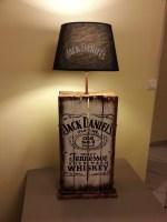 Discovering how to make a Jack Daniels lamp   Warisan Lighting