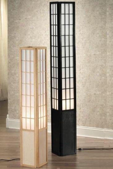 Japanese floor lamps  Warisan Lighting