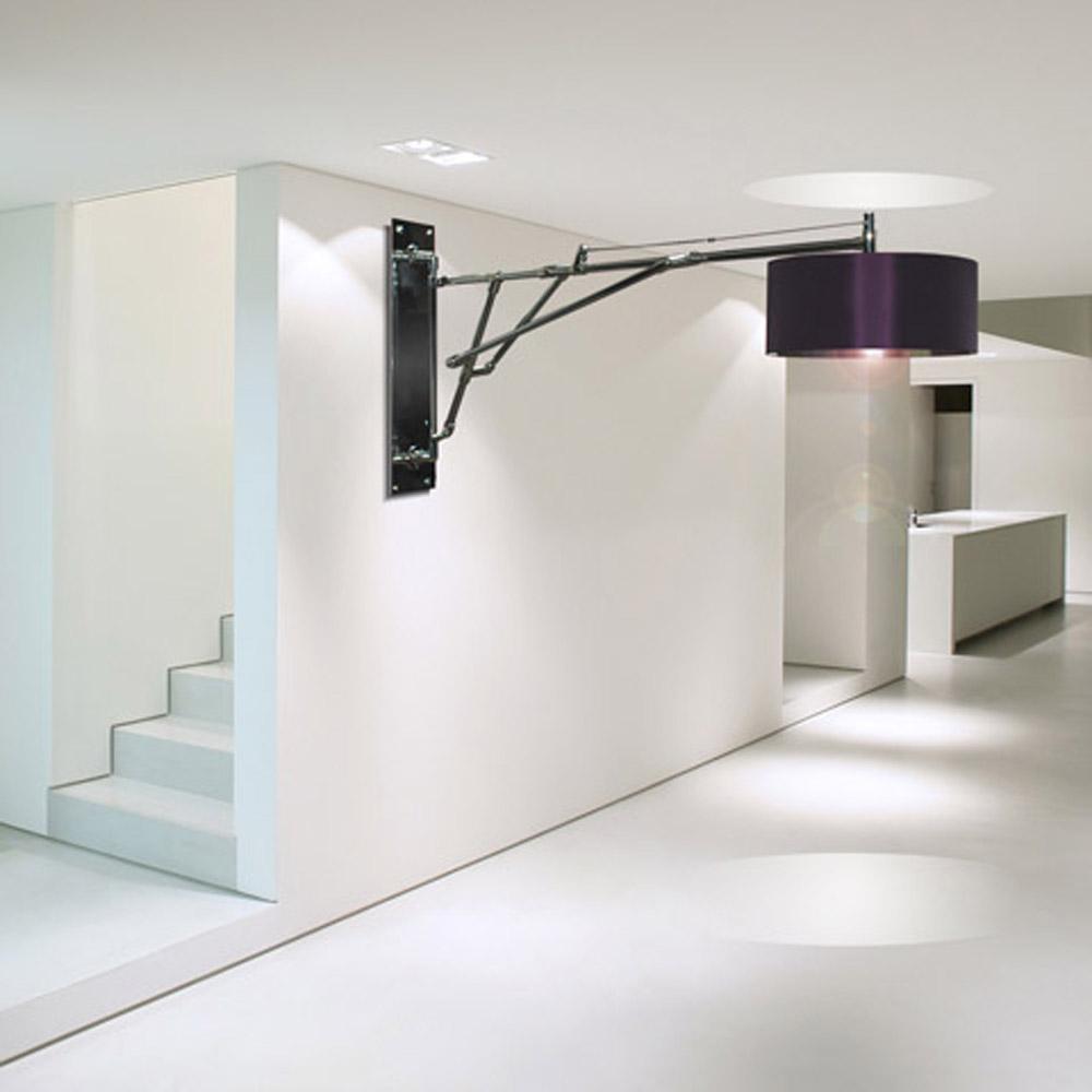 Lamp shades wall lights
