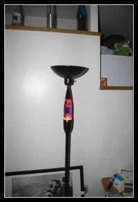 Lava lamp floor lamp