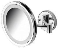 magnifying mirror with light wall mount | Roselawnlutheran