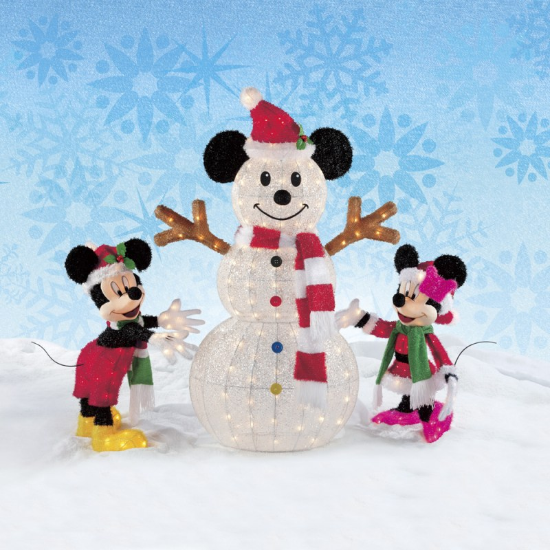 Mickey mouse outside christmas decoration for Decoration noel mickey