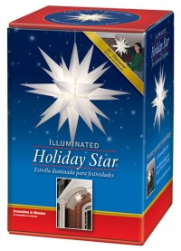 Moravian star outdoor light