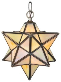 Create A Unique Look with Moravian star outdoor light ...