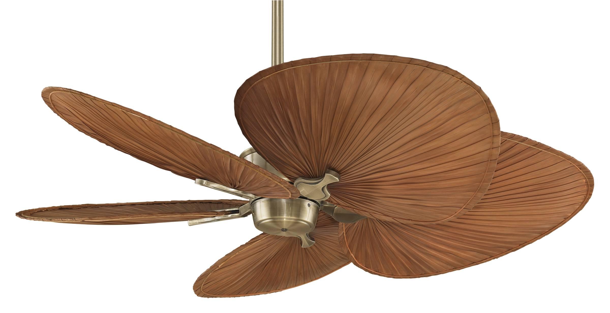 TOP 10 Palm leaf ceiling fans