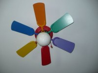 Rainbow ceiling fan - 13 ways to give your little ...