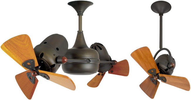 Rotating ceiling fans  Calm down yourselves with rotatory