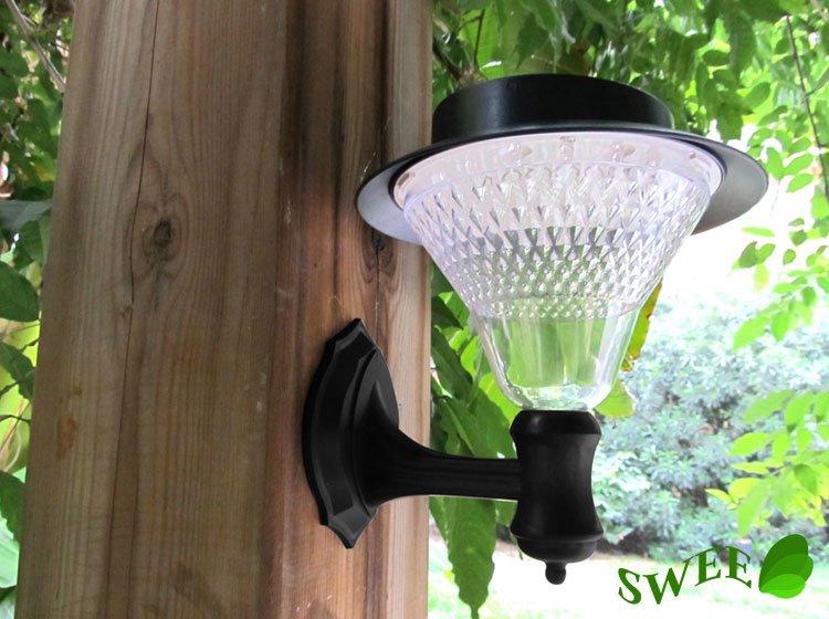 Solar Powered External Wall Lights