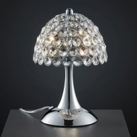 Table lamp crystal