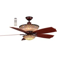 TOP 10 Tiffany ceiling fan lights 2018   Warisan Lighting