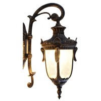 Vintage outdoor wall lights - blends well in any ...