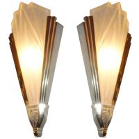 Wall lights art deco - 13 ways to feel The Futurism of art ...