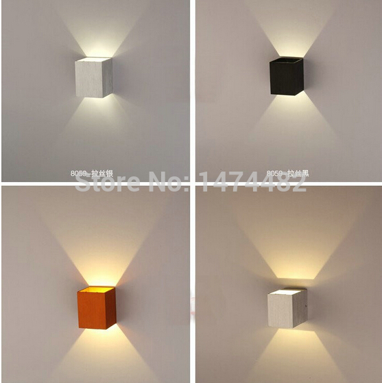 Meridian Led Deco Wall Wash Night Light Copper