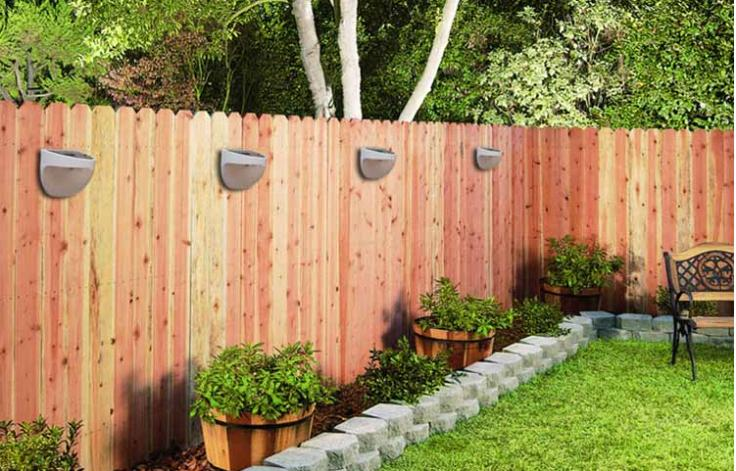 Liven Up Your Outdoor Event With Wall Mounted Solar Garden