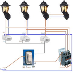 Pir Light Switch Wiring Diagram Mount St Helens Outdoor Lights | Warisan Lighting