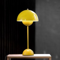 Play with color decor using Yellow table lamps | Warisan ...