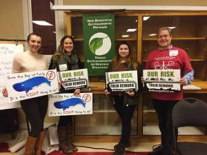 Students members of group that opposes Energy East pipeline