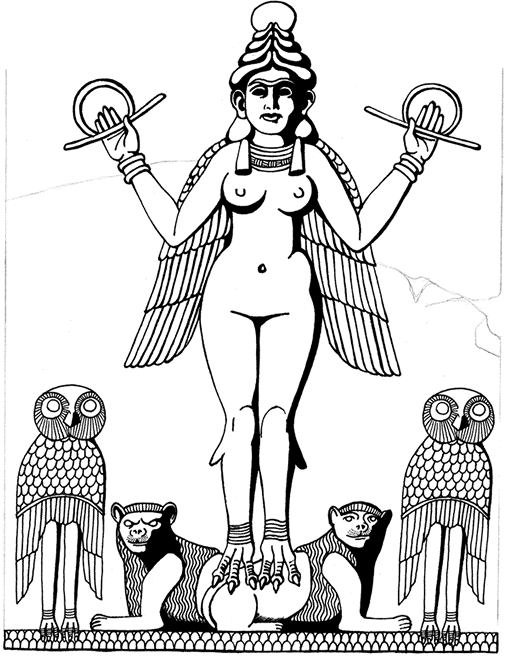 The Oracle of Enheduanna is now part of the sacred Art of Ninzuwu Canon