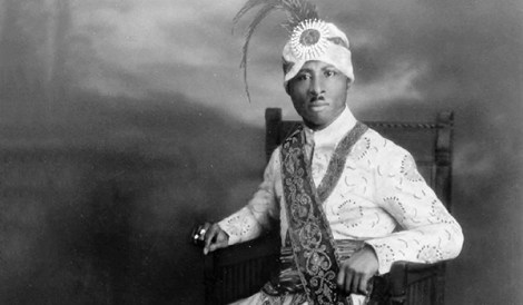 Prophet Noble Drew Ali founder of the Moorish Science Temple Inc.