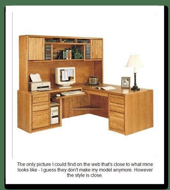 DIY L Shaped Computer Desk With Hutch Plans Wooden PDF