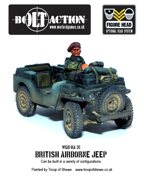 Bob Baker Jeep : baker, Re-released:, Action, Airborne, Jeeps!, Warlord, Games