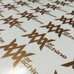 War machine logo sheet copper