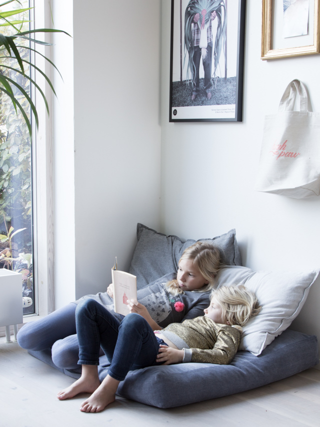 Design Inspiration: Creating a Kids' Play Space in Your Living Room; image via myscandinavianhome.com