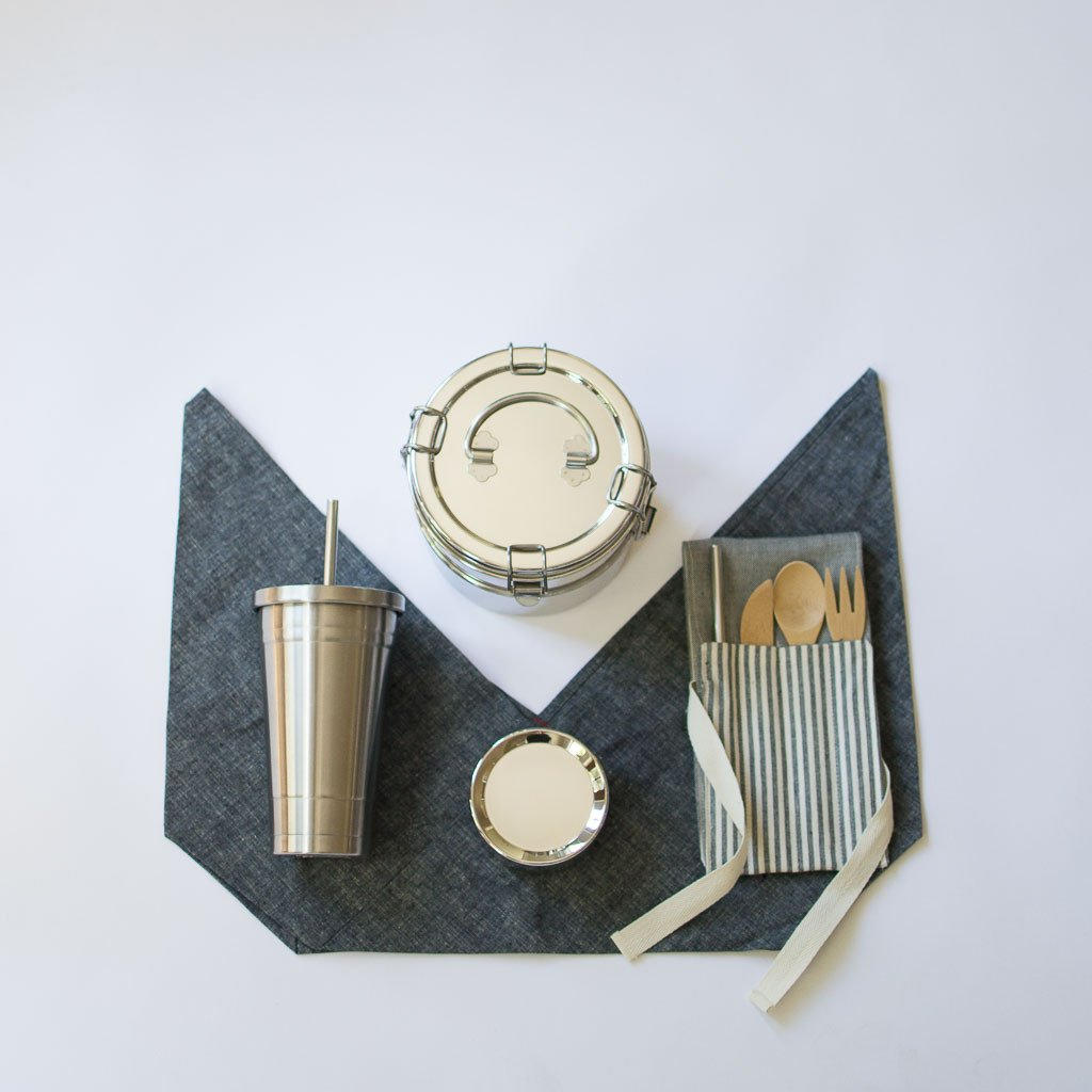 Wild Minimalist - Zero Waste Lunch Kit