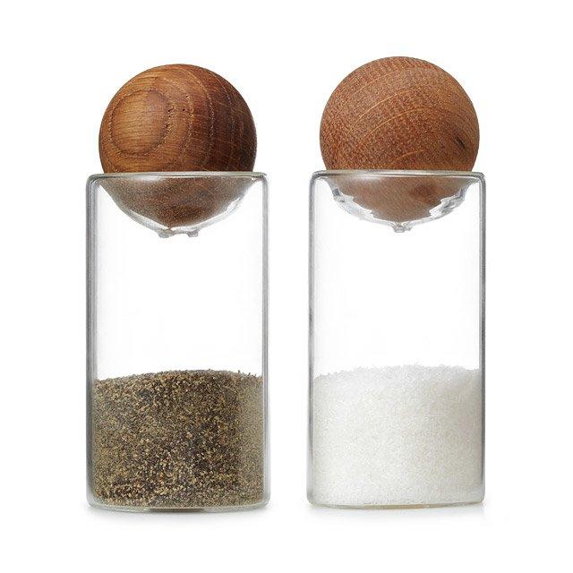 Sagaform Salt + Pepper Shakers
