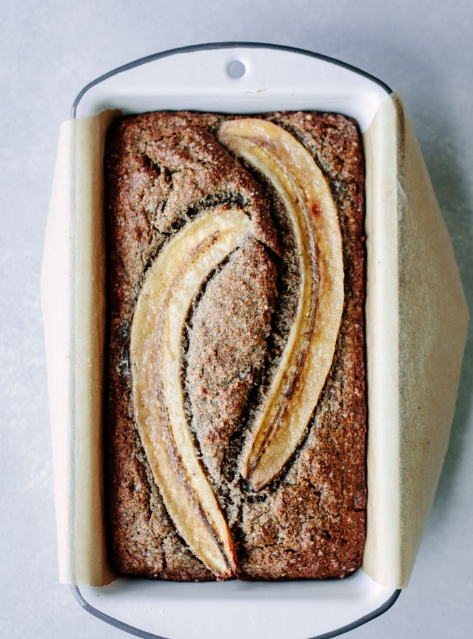 Buckwheat Maple Banana Bread — Gluten-free + Dairy-free