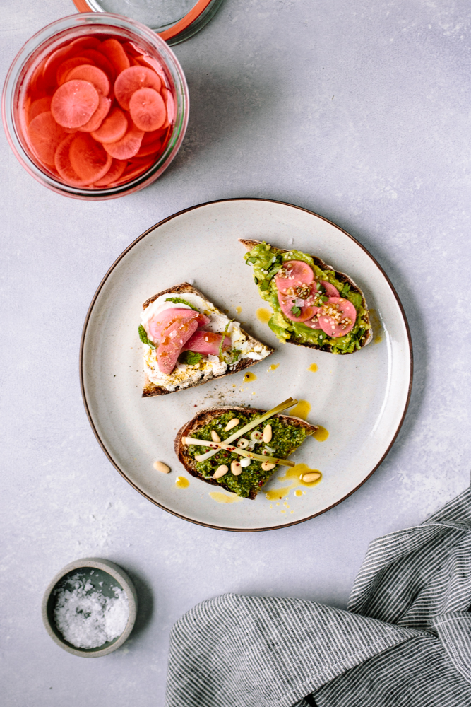Pickled Ramps, Rhubarb or Radishes, aka Spring, Preserved — warmandrosy.com