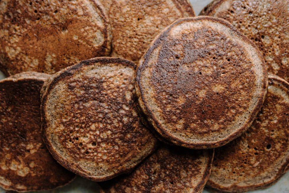 Buckwheat Banana Blender Pancakes, Gluten-free — warmandrosy.com