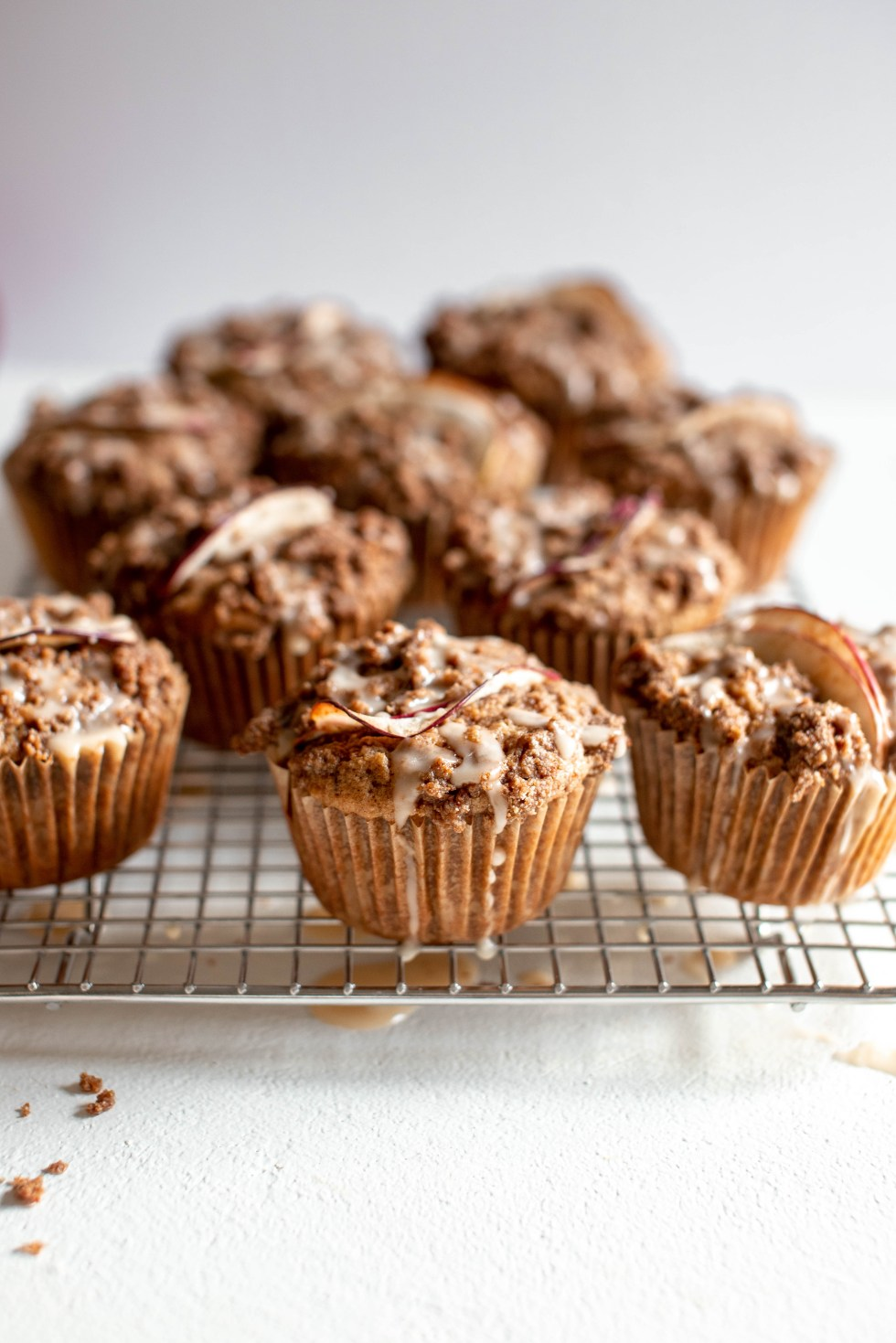 Apple Rye Crumb Muffins — warmandrosy.com
