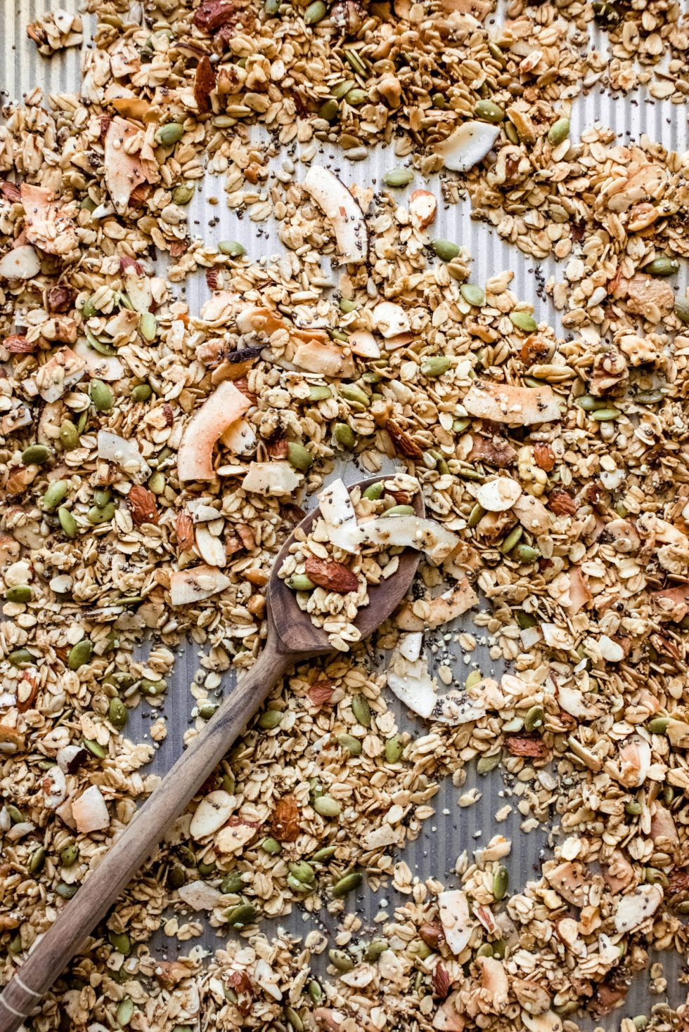 Toasted Muesli Mix with Coconut, Dates and Apricots — warmandrosy.com