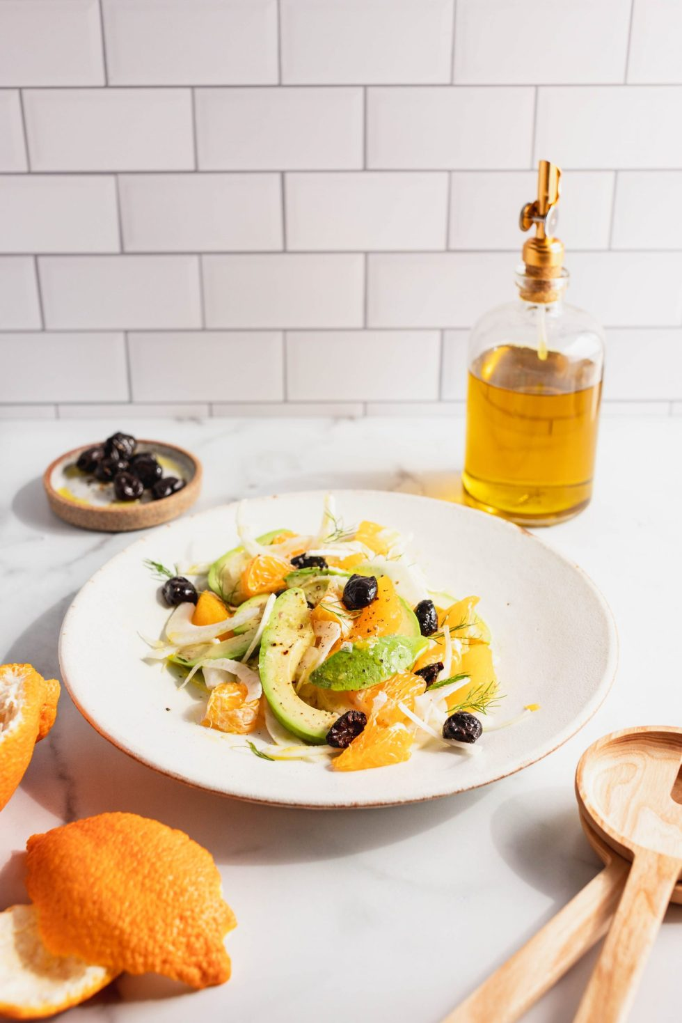 orange, fennel, avocado and olive salad — warmandrosy.com