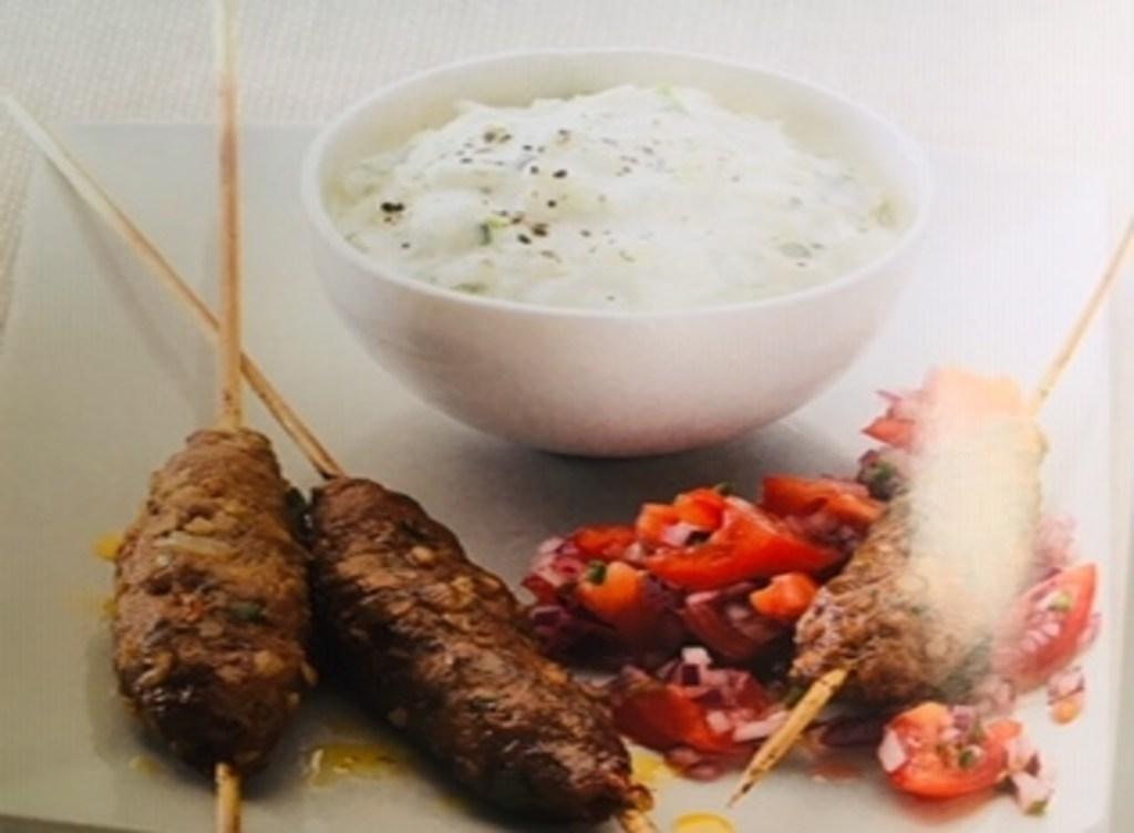 Ground Lamb Kebab