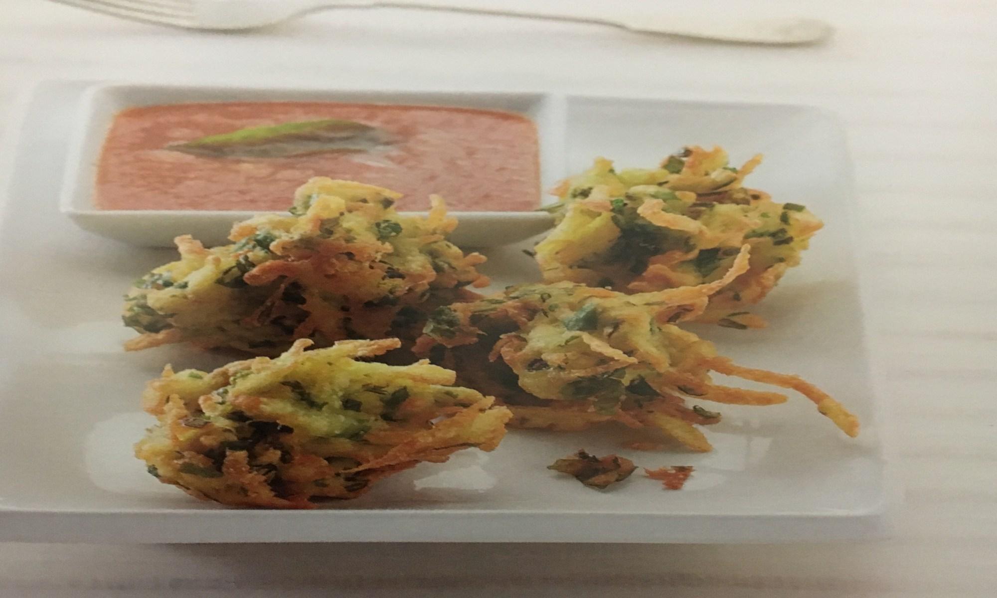 Cilantro Fritter