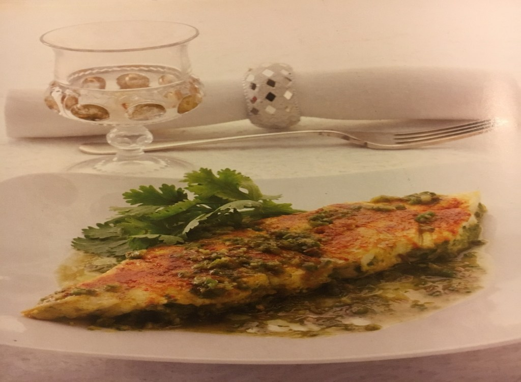 Halibut with Green Chilies