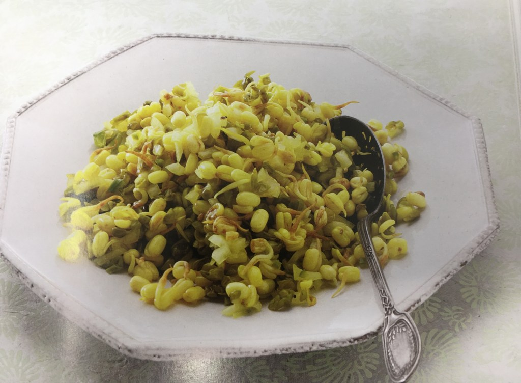 Sprout Mung Bean Salad