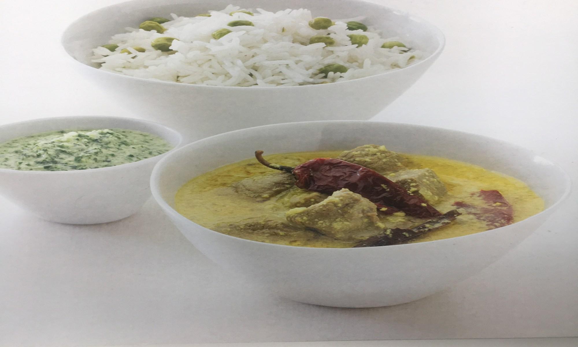 Warm and Tote Lamb Hyderabadi Style Lamb Recipe
