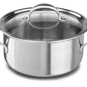 KitchenAid® 5-ply Copper Core 6-Quart Low Casserole with Lid