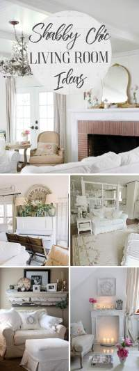 19 Shabby Chic Living Room Ideas That Will Totally Melt ...