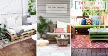 Uber Cool Outdoor Pallet Furniture Ideas