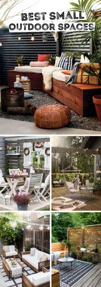 14 Brilliant Small Outdoor Space Design Ideas that Will ...