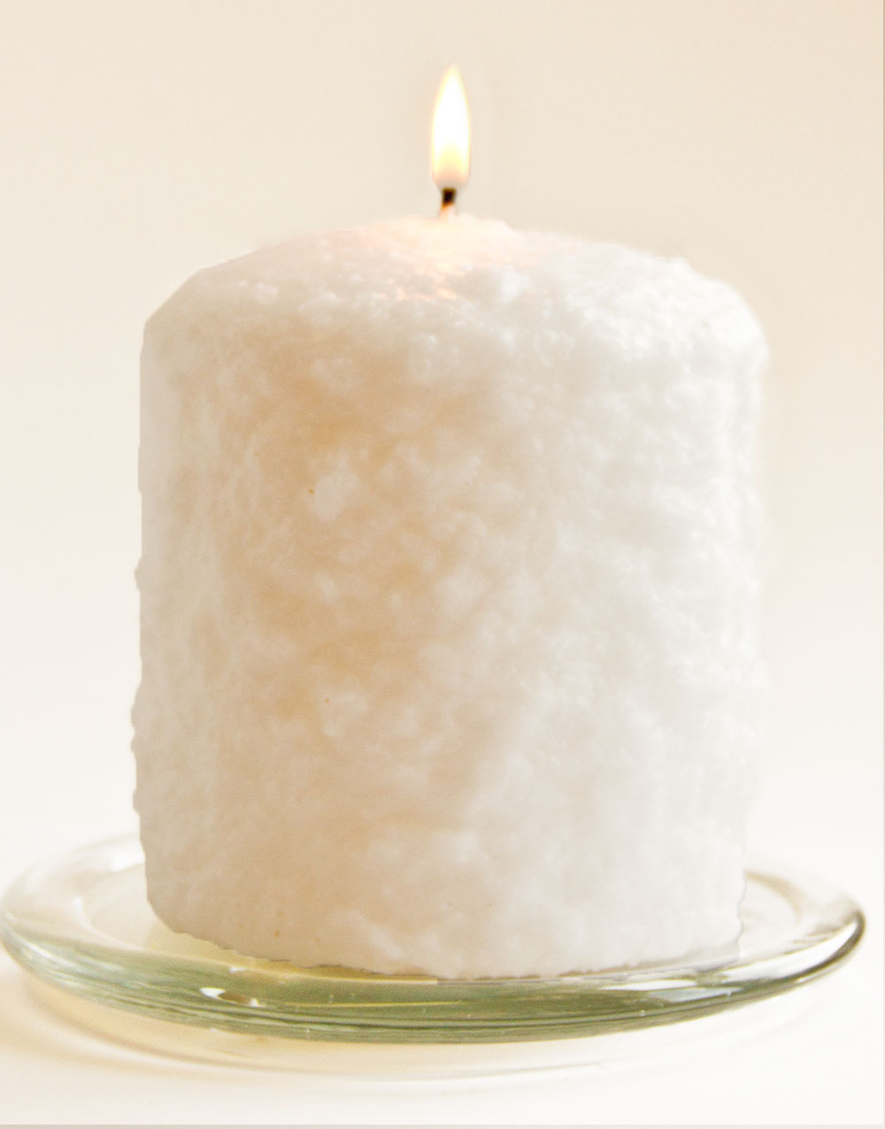 Coconut Cream Hearth Candle