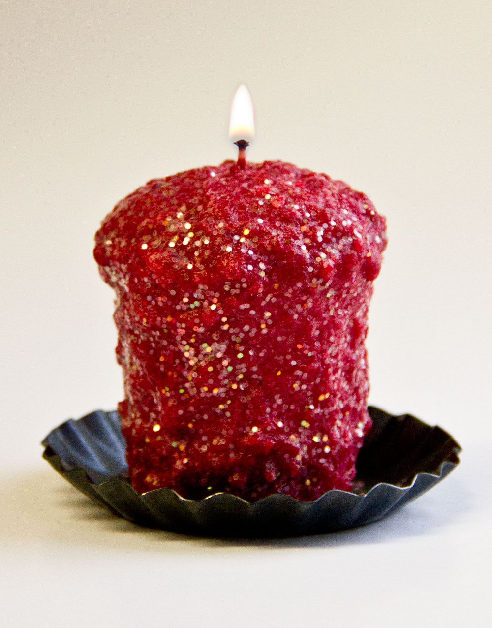 Cranberry Stardust Oversized Votive