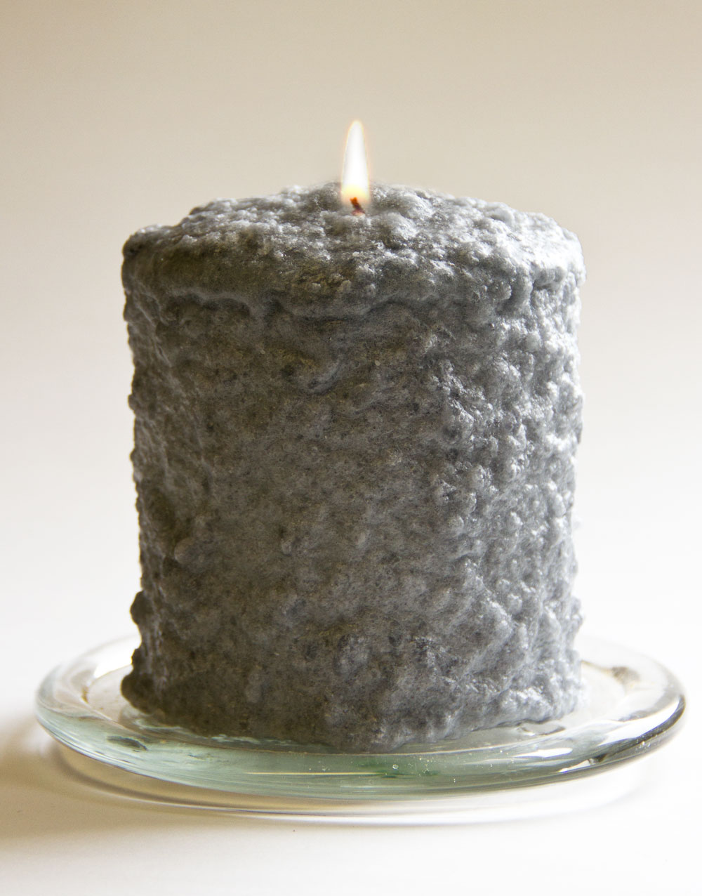 Grey Cashmere Hearth Candle