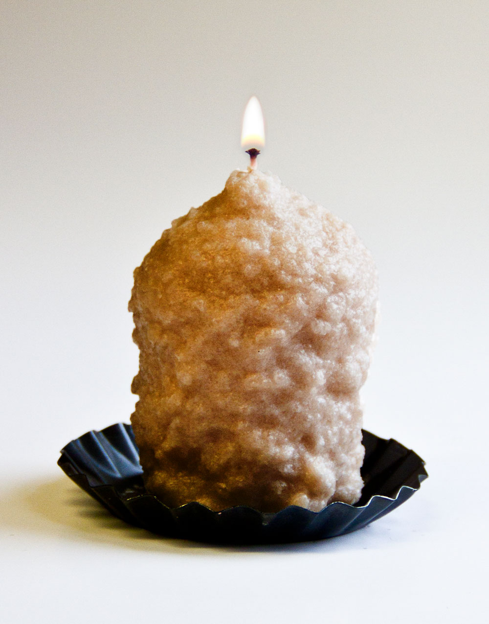 Nutmeg & Cream Oversized Votive
